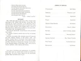 Funeral Programs Order Of Service Obituaries Page 90212