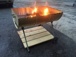 Fire Pit Mat by 55 Gal Drum Grill Fire Pit Plus Some Wood And A Cheap Charcoal
