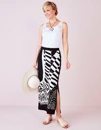 black maxi skirt with slit front slit maxi skirt cleo