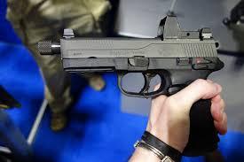 Fn Fnx 45 Tactical 45 Acp Polymer Framed Combat Tactical Pistol