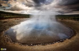 geysir springs icelandic geothermal field and geysers