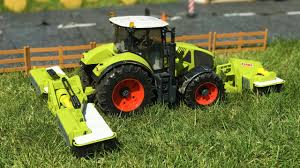 bruder farm toys bruder toys tractors with claas disc mower kids learn farm toys