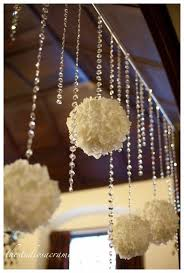 wedding entrance backdrop diy wedding entrance ideas tissue poms hanging flowers and