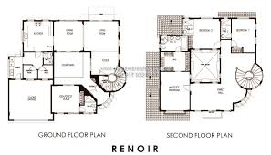 homes for sale with floor plans renoir of portofino heights luxury homes for sale in daang hari