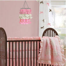 Craft Ideas For Baby Room - brown and pink nursery theme decorating ideas for your baby u0027s room