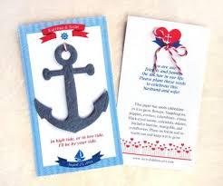 nautical wedding favors plantable paper flower seed anchors nautical wedding favors