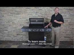 walmart grill backyard grill 4 burner stainless gas grill youtube