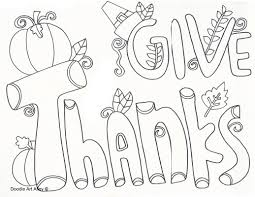 thanksgiving coloring pages doodle alley