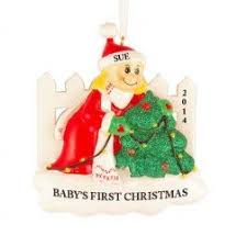 First Christmas Personalized Ornaments - baby u0027s first christmas personalized ornaments christmas and city