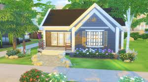 starter homes the sims 4 starter home house building
