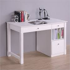 Long Desk With Drawers by White Desk Student Storage Desk W Keyboard Tray