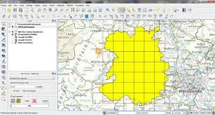 Map Grid Qgis Osgr Tool Generating Os Grid Squares Youtube