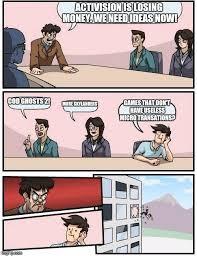 Cod Ghosts Meme - boardroom meeting suggestion meme imgflip