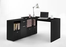 Schreibtisch Lex Winkelkombination Schwarz Schreibtisch