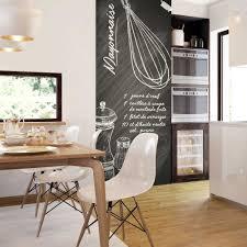 idee tapisserie cuisine idee deco papier peint salle a manger get green design de maison