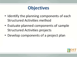 structured activities planning projects project based learning s u2026