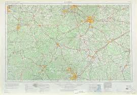 Map Nc Raleigh Topographic Maps Nc Usgs Topo Quad 35078a1 At 1 250 000