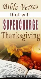 kjv on thanksgiving