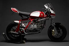 custom honda oddbike david morales u0027 honda 50 magnum man sized mini