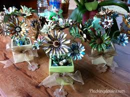 elephant baby shower centerpieces elephant themed baby shower plucking daisies