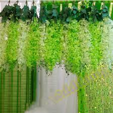 Wedding Backdrop Uk Discount Romantic Wedding Decoration Garland Artificial Hanging