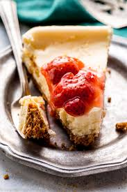 creamy small batch cheesecake sallys baking addiction