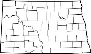 Map Of Nd North Dakota Counties North Dakota Studies
