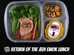 lunchbox dad star wars return of the jedi ewok lunch for national