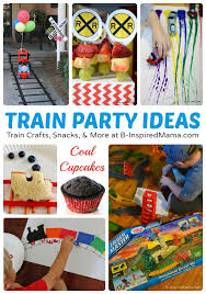 Thomas Inspired Train Crafts And Party Ideas B Inspired Mama