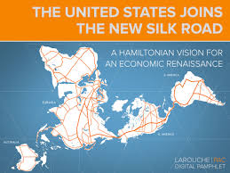 Silk Road Map The United States Joins The New Silk Road Larouchepac