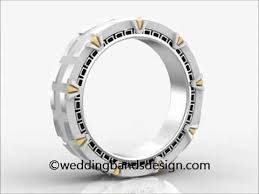 stargate wedding ring stargate wedding band