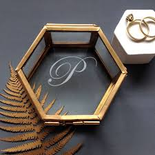 personalised jewelry box best 25 glass jewellery box ideas on jewellery box