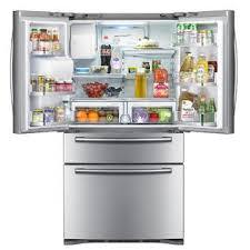 Samsung French Door Refrigerator Cu Ft - samsung french door refrigerator 28 cu ft rf4287hars sears