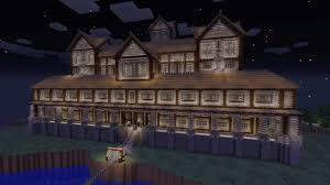 minecraft big house ideas