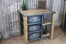 industrial kitchen furniture vintage industrial drawer unit kitchen island