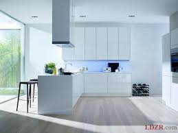 diy modern inspiration for kitchen set design white color