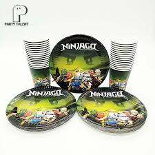 ninjago party supplies ninjago theme party supplies tableware 30pcs paper plates 30pcs