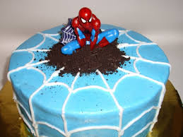 How To Decorate A Birthday Cake Best 25 Spider Man Cakes Ideas On Pinterest Spiderman Birthday