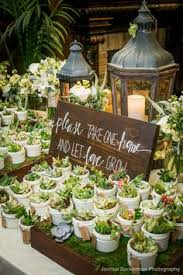 succulent wedding favors 2017 wedding trends 30 botanical ideas to decorate your big day