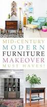 mid century modern furniture makeover must haves the cottage market