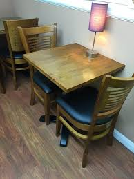 second hand table chairs secondhand chairs and tables restaurant or cafe tables