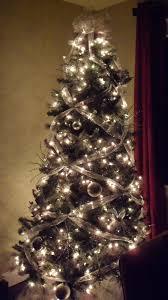 christmas tree bow topper criss cross ribbon holidays