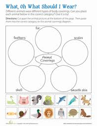 animal habitat worksheets for 1st grade for worksheet with animal
