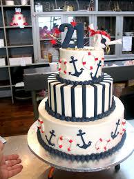 nautical centerpieces tier wicked chocolate nautical themed cake