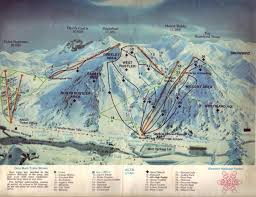 Utah Ski Resort Map by Utah U0027s Skiing Past Lives On In Old Ski Maps