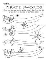 pirates activities worksheets printables and lesson plans