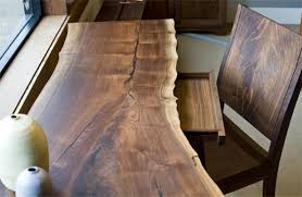 live edge desk with drawers live edge black walnut entrepreneur desk custom furniture and in