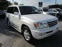 used suv lexus lx470 2005 lexus lx 470 4wd 4dr suv in smyrna tn southern auto exchange