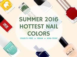 14 must have summer nail colors vegan u0026 non toxic nail polish