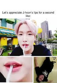 Big Lips Meme - kpop meme jhoon big lips kpop memes pinterest kpop